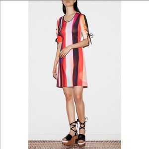 Clover Canyon Striped Eclipse Dress